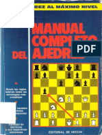 319 pags   Manual completo del ajedrez