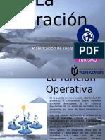 La Operación en el diseño de tours