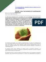 La educación ambiental como herramienta de participación para la sostenibilidad local