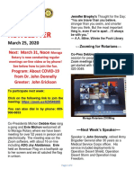 Moraga Rotary Newsletter March 24 2020 Final