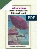 [PDF] 31 Jules Verne - Robur Cuceritorul Stapinul Lumii 1982