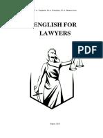 УМК English for lawyers