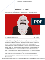 Rulers of the world_ read Karl Marx! - Second time, farce