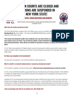 FAQs About NYS Eviction Moratorium
