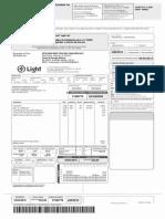 LIGHT VENC 18-02-2015 R$ 222.65 BOLETO
