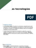 Nuevas tecnologías (1)