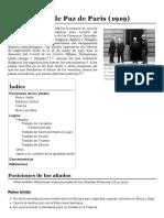 Conferencia de Paz de París (1919)