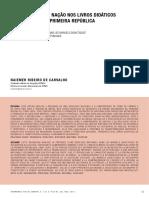 CARVALHO, Naiemer Ribeiro. A construção da nação nos livros didáticos de geografia da Primeira República.pdf