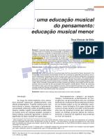 TECAeducação musical menor