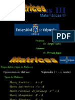 Matrices Mat III