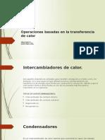 TRANSFERENCIA DE MASA Y CALOR