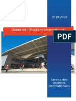 Guide de l'etudiant international 2019-20