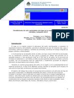INTA Manfredi - Rendimiento de seis variedades de trigo en la región centro norte de Córdoba