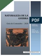 Naturaleza de La Guerra - Manual (ESGA, 2020)