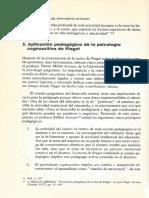 3. Aplicación pedagógica de la psicología Cognoscitiva de Piaget