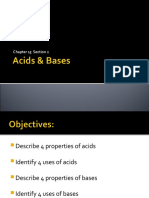 Acids & Bases Ch15.2 8th
