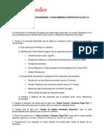 Carta Super Cuenta 2017