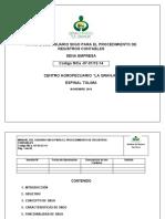 Manual Del Usuario Siigo Para El Procedimiento de Registros en Siigo