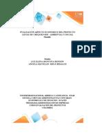 Plantilla Excel Evaluación aspecto económico  (2)