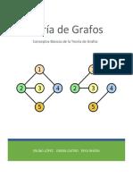 Proyecto de Investigación Seminario de Tópicos en Matemática Teoria de grafos