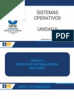 UNIDAD II-ENTRADA SALIDA-PROCESOS-SO-2020 (Parte I) (1)