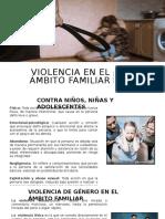 VIOLENCIA EN EL AMBITO FAMILIAR