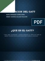 CREACION DEL GATT