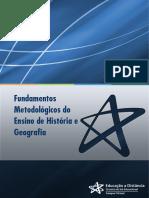 UNIDADE V - A CARTOGRAFIA E O ENSINO DE HISTÓRIA E GEOGRAFIA