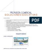 Propuesta web y notas