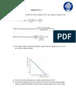 Assignment No.5 bussiness economics
