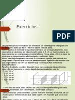 Exercicios solidos GEOMETRICOS