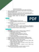 Resumen fisiopatología