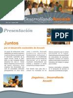 Desarrollando Ancash, Año 1, no. 1, Ago 2009