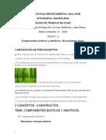 GUIA No 2   organismos bioticos y abioticos - ecosistemas nuevo.docx