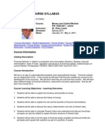 UT Dallas Syllabus for fin6320.001.11s taught by Peter Lewin (plewin)