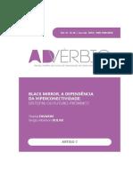 BLACK MIRROR, A DEPENDÊNCIA DA HIPERCONECTIVIDADE