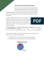 INFORME Y ANALISIS DE UNA ENTREVISTA