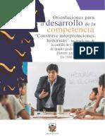 ORIENTACIONES PARA EL DESARROLLO DE LA COMPETENCIA CONSTRUYE INTERPRETACIONES.docx