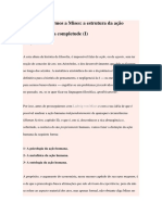 Sidney Silveira - A estrutura da ação humana em sua completude
