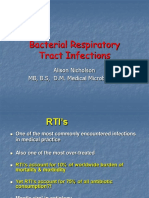 Bacterial Respiratory MBBS Tract Infections (LECTURE)