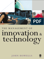 Dr John Howells - The Management of Innovation and Technology_ The Shaping of Technology and Institutions of the Market Economy-Sage Publications Ltd (2005).pdf