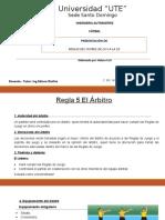 REGLAS FÚTBOL 5 AL 10