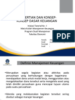 Materi 1 - Pengertian dan Konsep-konsep Dasar Keuangan