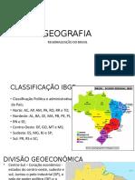 Aula 1 - regionalização