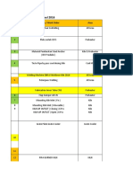 Compile schedule
