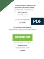 Analisis del contexto general y especifico de las organozaciones del sector turistico regional