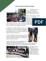 El 8 de marzo y la lucha de miles de mujeres (1)