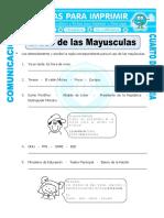 Ficha-Uso-de-las-Mayusculas-Ejercicios-para-Cuarto-de-Primaria