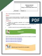 Guía de sociales, grado 3° y 4°