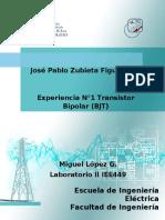 Experiencia 1 José Pablo Zubieta